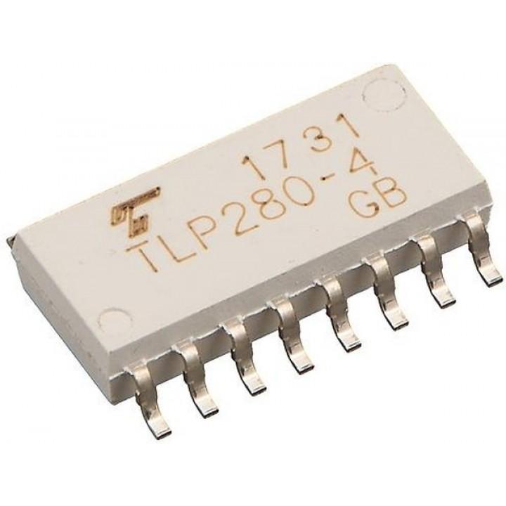 Оптопара широкого назначения , TLP280-4(GB-TP.J.F)