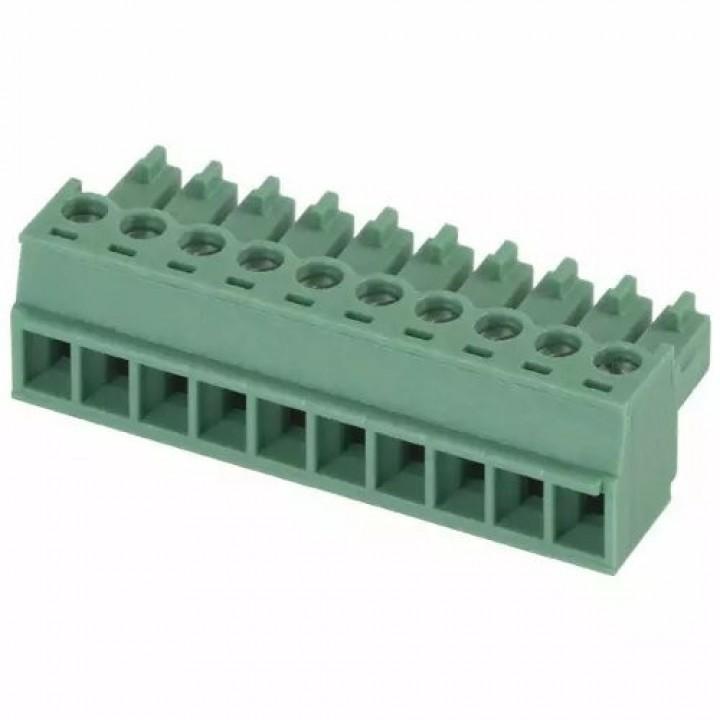 Разъемные клеммные блоки 15EDGK-3.5-10P-14-00A(H)  ( на кабель )