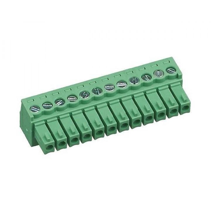 Разъемные клеммные блоки 15EDGK-3.5-12P-14-00A(H)  ( на кабель )