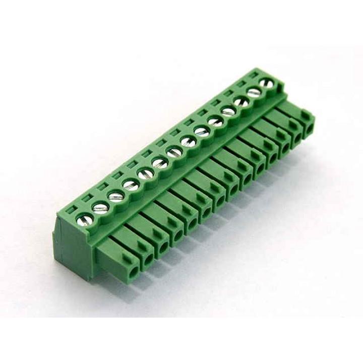 Разъемные клеммные блоки 15EDGK-3.5-14P-14-00A(H)  ( на кабель )