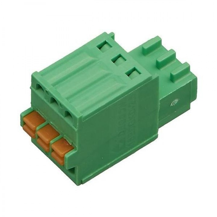 Разъемные клеммные блоки 15EDGKD-2.5-03P-14-00A(H)  ( на кабель)