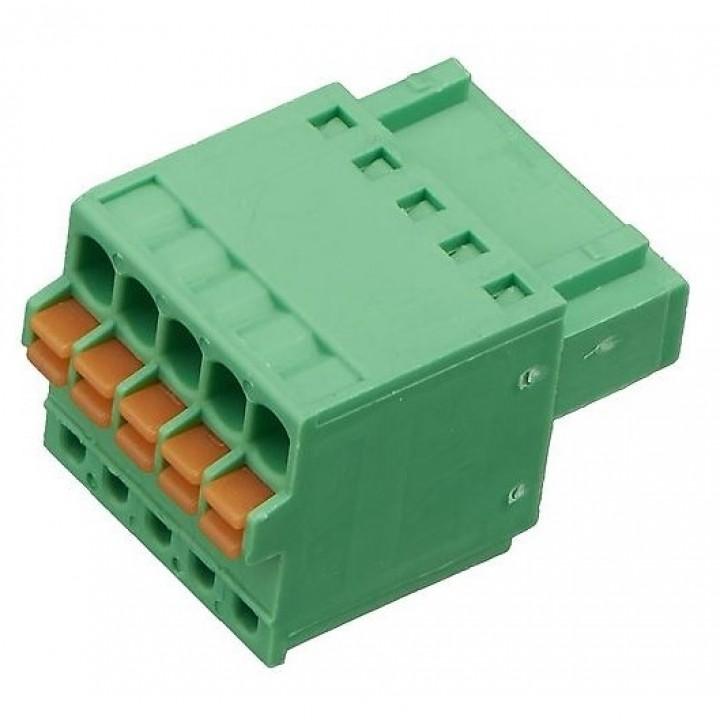 Разъемные клеммные блоки 15EDGKD-2.5-05P-14-00A(H)  ( на кабель)