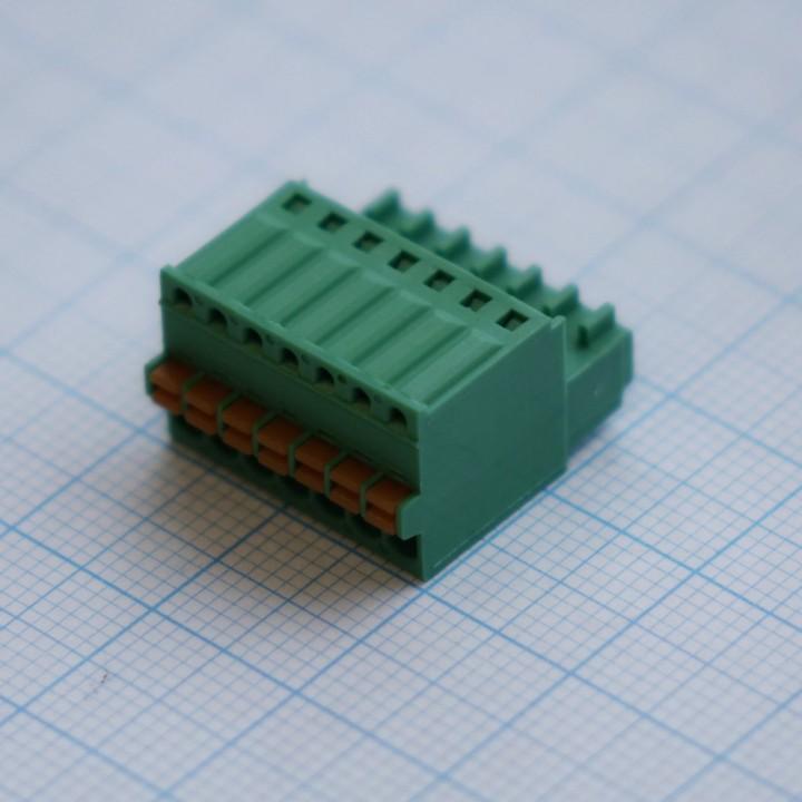 Разъемные клеммные блоки 15EDGKD-2.5-07P-14-00A(H) ( на кабель)