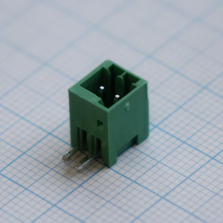 Разъемные клеммные блоки 15EDGRC-2.5-02P-14-00A(H)  ( на плату )
