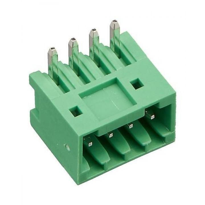Разъемные клеммные блоки 15EDGRC-2.5-04P-14-00A(H)   ( на плату )
