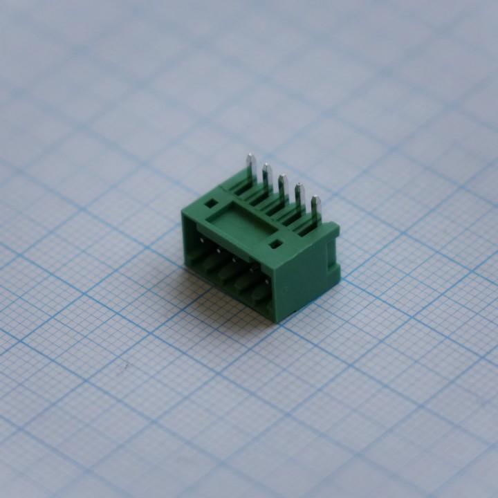 Разъемные клеммные блоки 15EDGRC-2.5-05P-14-00A(H)   ( на плату )