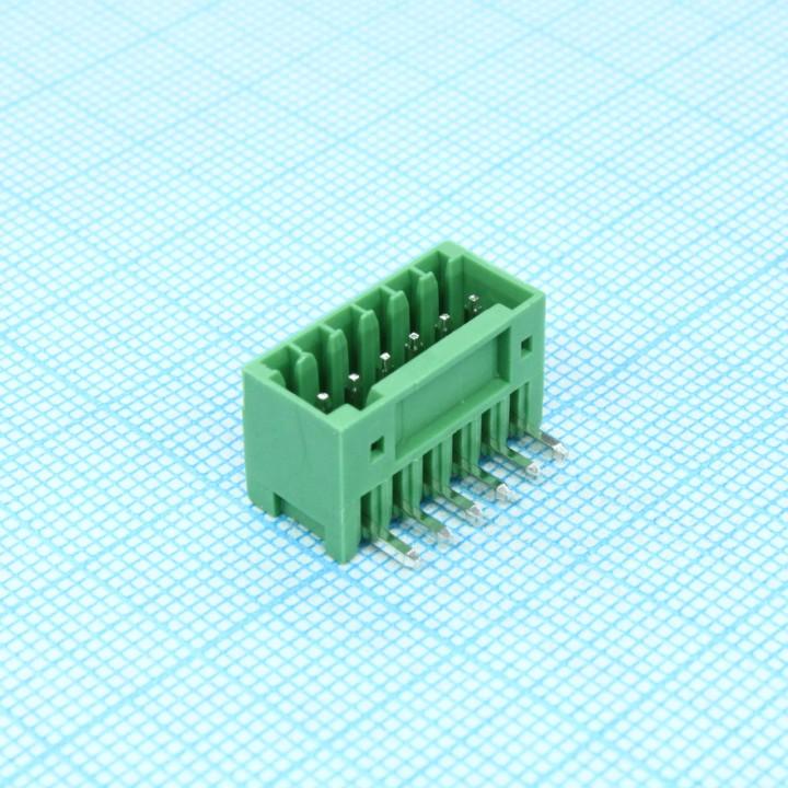 Разъемные клеммные блоки 15EDGRC-2.5-06P-14-00A(H)   ( на плату )