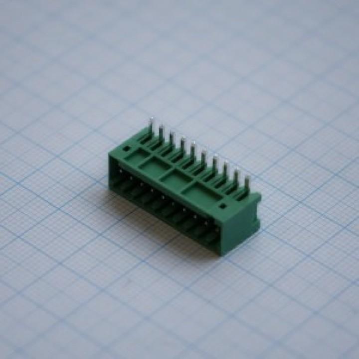 Разъемные клеммные блоки 15EDGRC-2.5-10P-14-00A(H)   ( на плату )