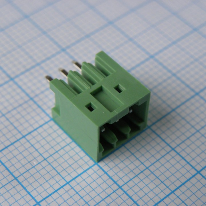 Разъемные клеммные блоки 15EDGVC-2.5-03P-14-00A(H)   ( на плату )