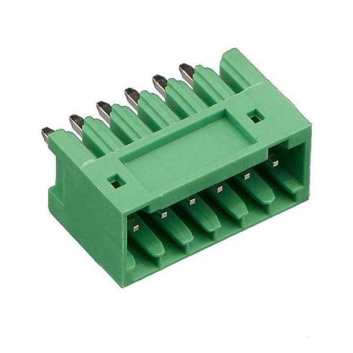 Разъемные клеммные блоки 15EDGVC-2.5-06P-14-00A(H)  ( на плату )