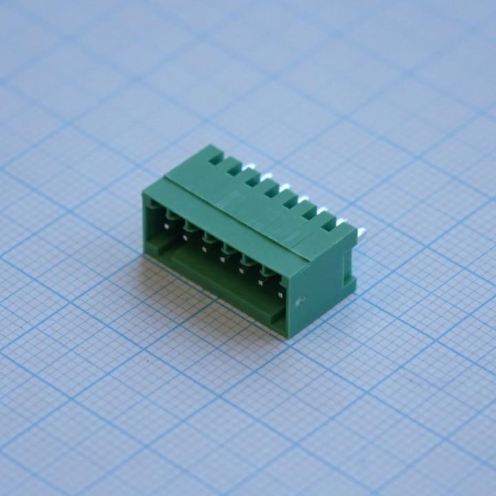 Разъемные клеммные блоки 15EDGVC-2.5-07P-14-00A(H)  ( на плату )