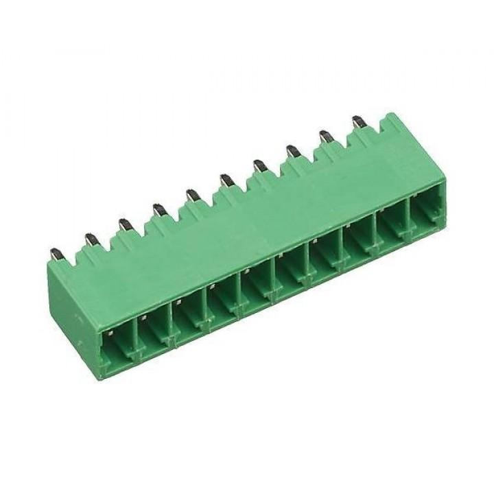 Разъемные клеммные блоки 15EDGVC-2.5-10P-14-00A(H)  ( на плату )