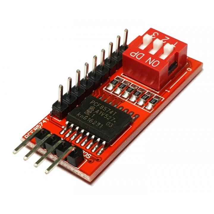 IO модуль расширения, PCF8574T для Arduino