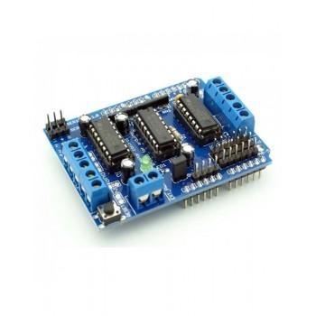 Motor Control Shield L293D (шилд управления двигателями) для Arduino