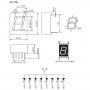 Цифровой трубный светодиодный дисплей