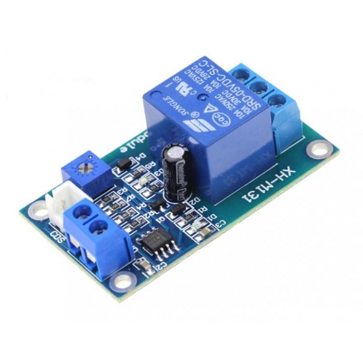 Модуль реле 12V с датчиком освещенности (фоторезистор)