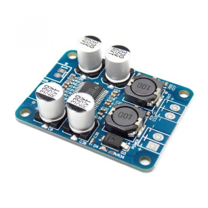 Цифровой моно усилитель TPA3118 PBTL 1x60ВТ