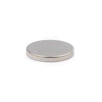 Неодимовый магнит диск 15х2мм
