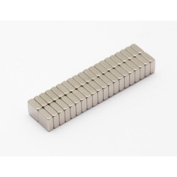 Неодимовый магнит прямоугольник 5х5х2 мм