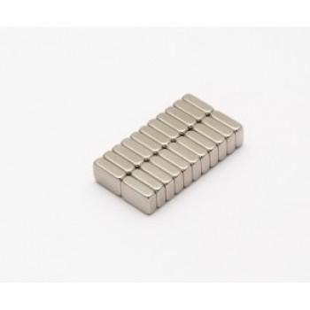 Неодимовый магнит прямоугольник 6х4х1мм