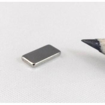 Неодимовый магнит прямоугольник 10х4х1мм