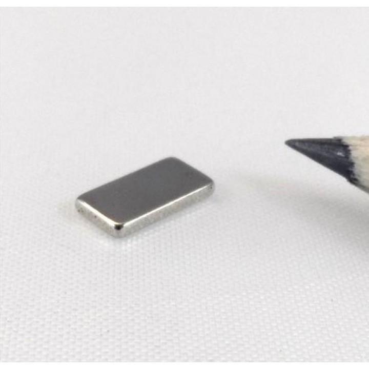 Неодимовый магнит прямоугольник 10х4х1 мм