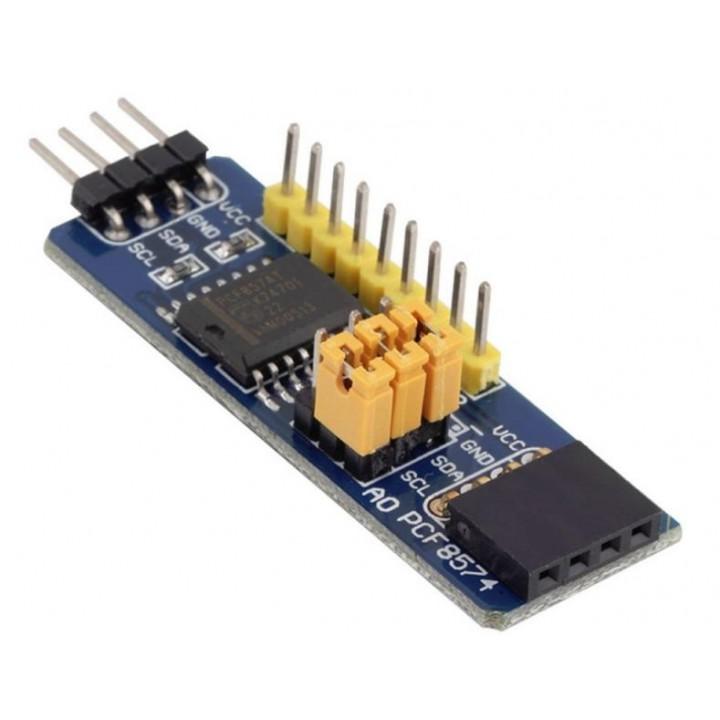 Модуль расширения I2C 8-канальный PCF8574T