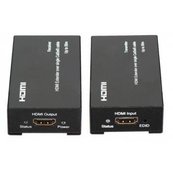 Удлинитель HDMI на 120 метров (EXTENDER) по витой паре CAT 5E\6