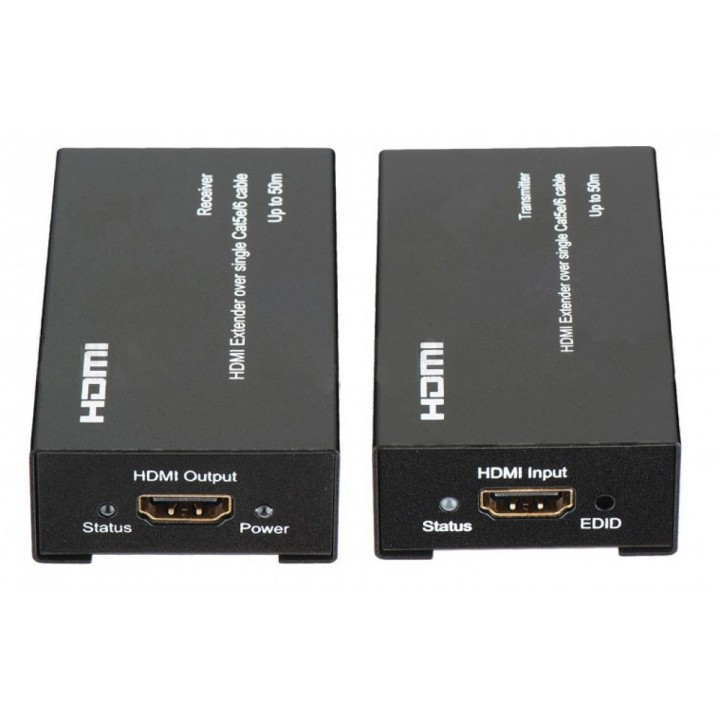 """Удлинитель (EXTENDER) HDMI на расстояние до 120 метров  по кабелю """"витая пара"""" CAT 5E\6"""