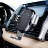 Беспроводное зарядное устройство - автодержатель Baseus Wireless Charger Gravity Car Mount