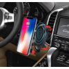 Держатель для телефона - беспроводная Qi зарядка в автомобиль Wireless charger car mounth