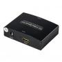 Адаптер HDMI VGA + audio выход на тюльпаны R/L