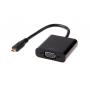 Переходник-адаптер из micro HDMI в VGA