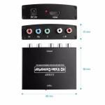 Преобразователь HDMI - YPBPR (RGB)