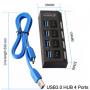 Сплиттер USB 3.0 на 4 порта