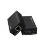 Удлинитель HDMI на 60 метров (EXTENDER) по витой паре CAT 5E\6