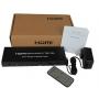 HDMI свитчер, разветвитель, удлинитель до 60 м. ИК, CAT6