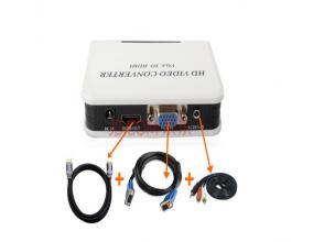 Видеоконвертеры HDMI - VGA. Как выбрать?
