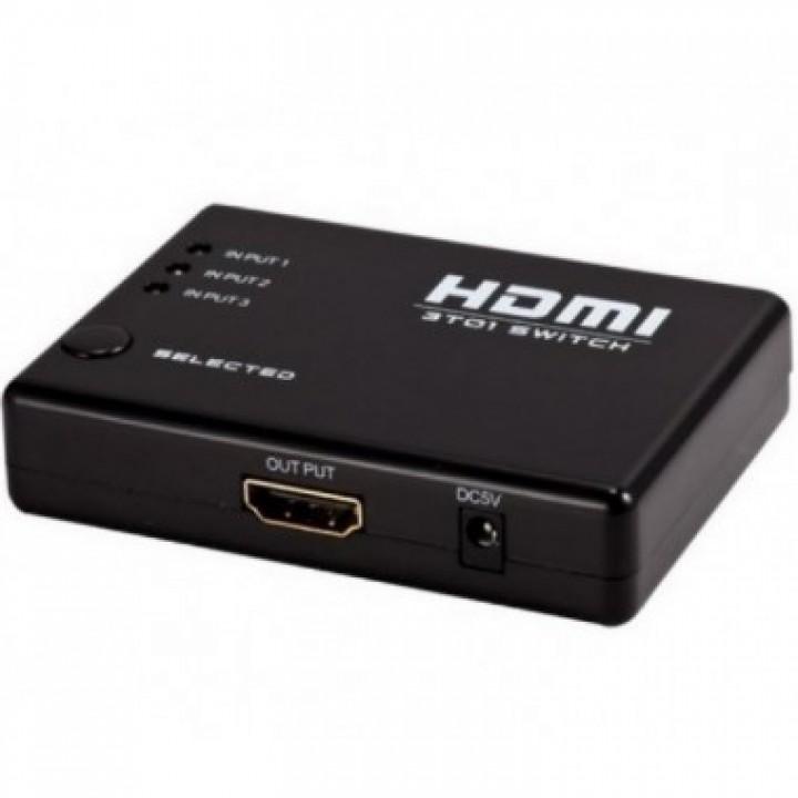 HDMI switcher 3x1, свитчер
