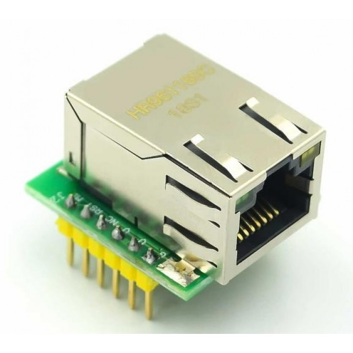 Модуль Ethernet на базе  W5500 USR-ES1
